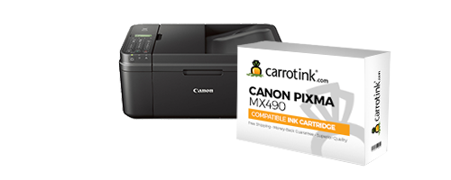canon pixma mx490 ink carrot ink. Black Bedroom Furniture Sets. Home Design Ideas