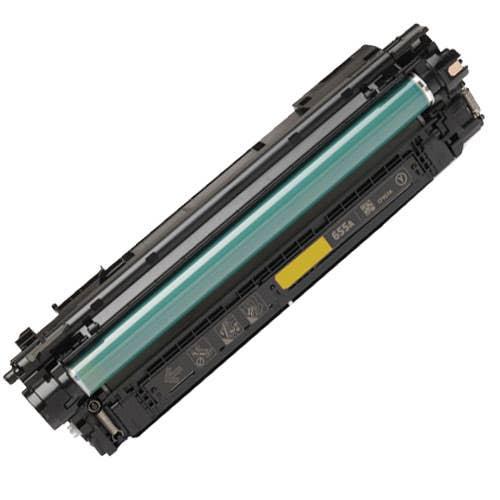 Remanufactured HP 655A Toner Cartridge Yellow (CF452A)